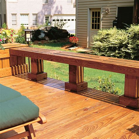 deck bench seating ideas best 25 deck seating ideas on pinterest deck bench