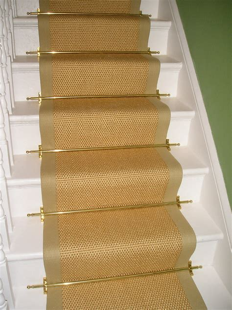 Stair Runner Rug Decorative Sisal Stair Runner Ideas Door Stair Design