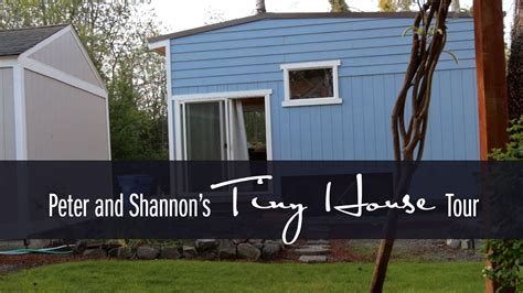 tiny house tours shannon s tiny house tour
