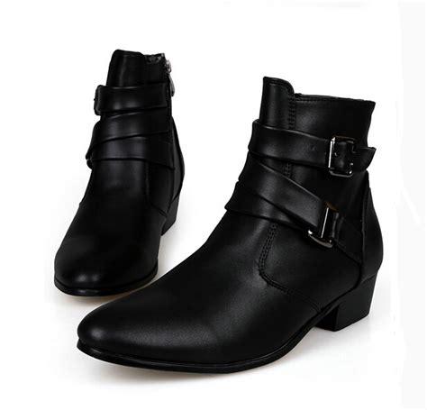 botas de cuero para hombres botas tacon para hombre