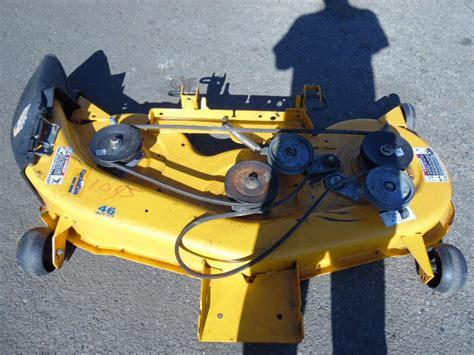 cub cadet lt1045 cub cadet lt1045 lawn tractor 46 quot mower deck 983 04172