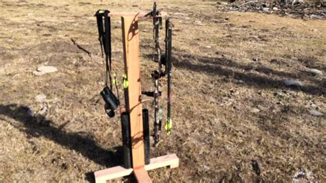 archery bow stand plans bow stand plans best house interior today