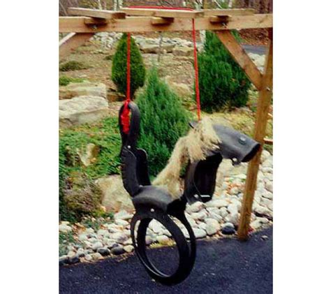recycled tire swing horse recycled tire rocking horse swing qvc com