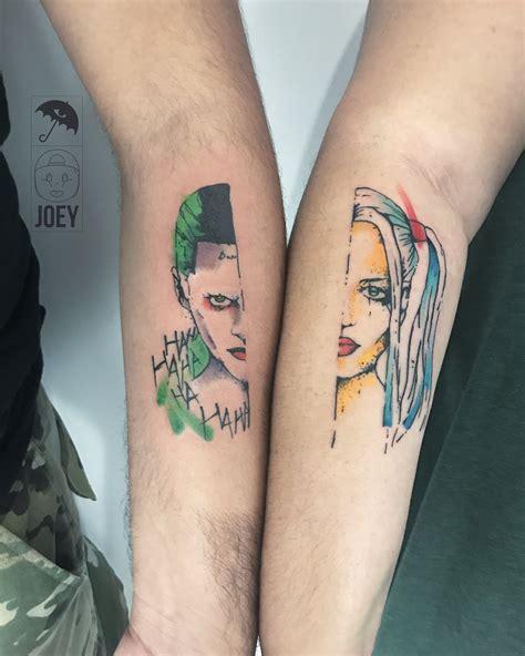 joker harley tattoo joker joker harley quinn harley quinn