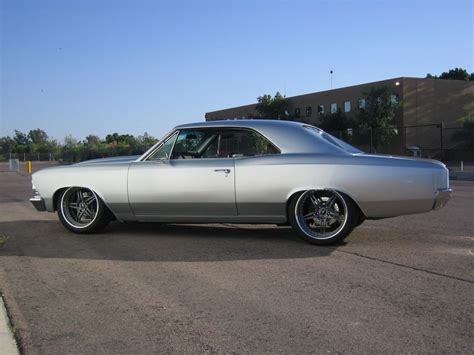 Wheels 66 Chevelle silver 66 pro touring chevelles cars
