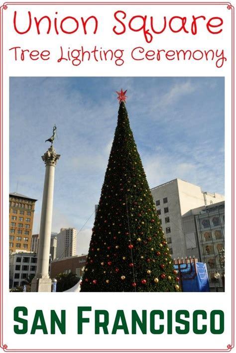 san francisco tree lighting 2018 macy s great tree lighting union square