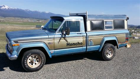 jeep honcho levi edition 1977 jeep honcho levi edition 4x4 truck runs great