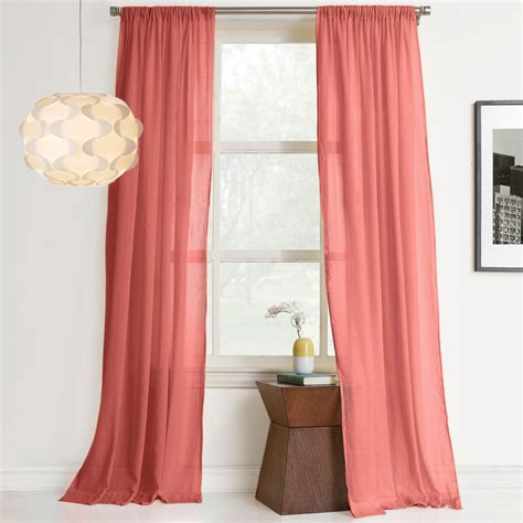 gauze curtain panels no 918 millennial hendricks 50 x 84 cotton gauze curtain