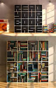 Bookshelve Ideas Cool Bookcase Has A Message For You When It S Empty