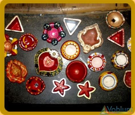 Handmade Diwali Diyas - handmade diyas coaching tuition course neetu