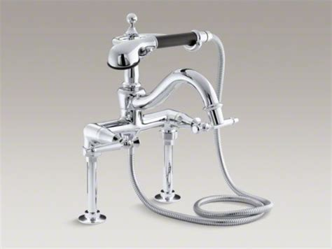 Kohler Antique Shower Faucet by Kohler Antique Floor Or Wall Mount Bath Faucet With Lever
