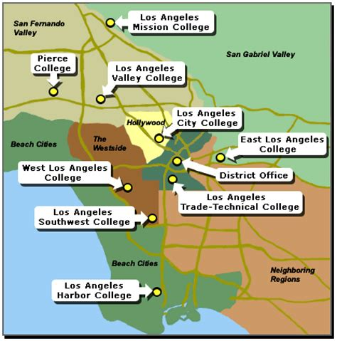 Mba Programs Near Ventura County Ca by Laccd Colleges