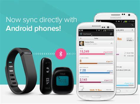 fitbit adds android direct syncing support for galaxy s iii and note ii users zdnet - How To Sync Fitbit With Android Phone