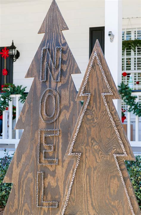 diy front yard christmas decorating projects  garden