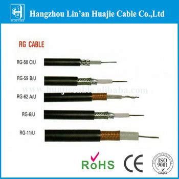 Kabel Rg 11 low loss rg6 rg11 rg58 rg59 rg62 coaxial cable price buy