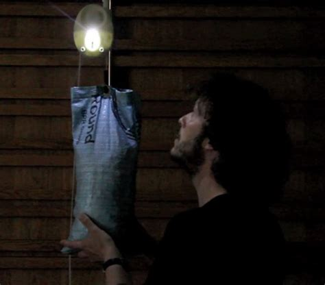 gravity powered light gravitylight tackles weighty issue of lighting in the