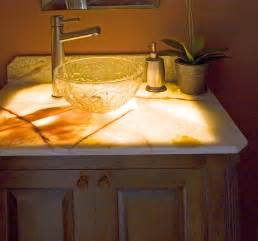 Diy Soapstone Slabs Pls Show Vanity Tops That Are Not Granite Quartz Or Solid