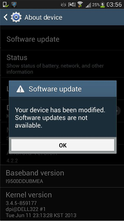 software updater for android my journey for knowledge solved quot your device has been modified software updates are not