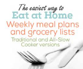 your free meal plan sle eat at home