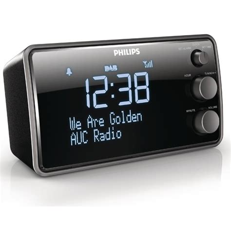 philips ajb3552 05 alarm dab clock radio large display