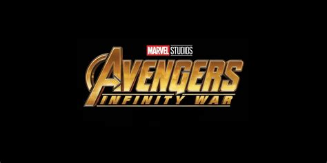 marvel s infinity war prelude infinity war gets new logo screen rant
