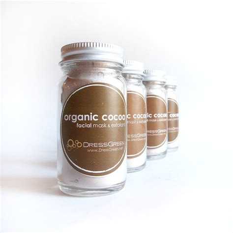 Crushlicious Chocoa Organic Facemask organic cocoa mask softening and by dressgreen on etsy