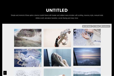 free tumblr themes with infinite scroll and sidebar bajuz themes free premium tumblr themes by bajuz