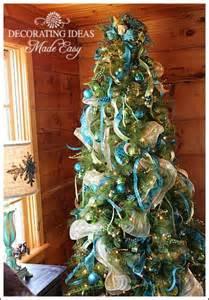 christmas tree ribbon decoration ideas designcorner