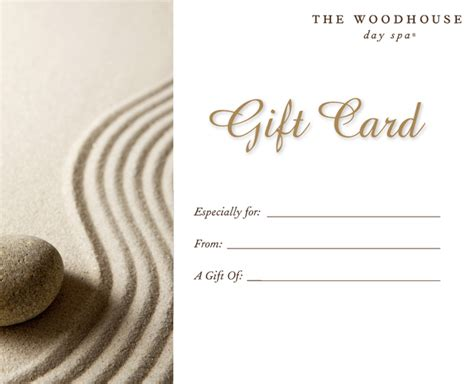 Spa Wish Gift Card - purchase a gift card woodhouse day spas sugar land tx