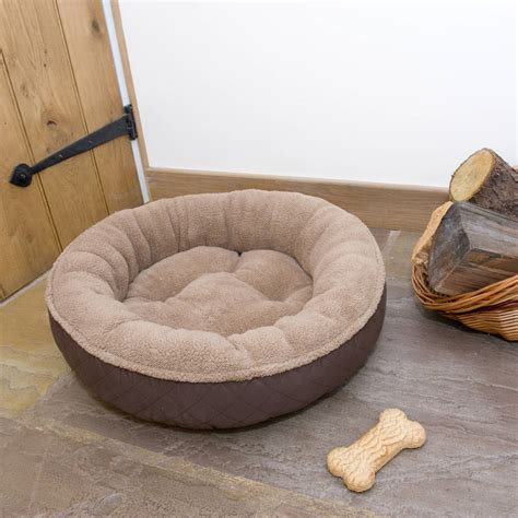 donut bed hound donut bed by noah s ark notonthehighstreet