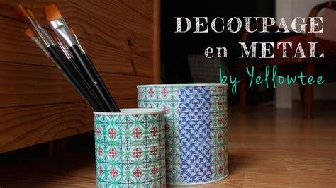 tutorial decoupage latas decorando con decoupage sobre latas de conserva tutorial