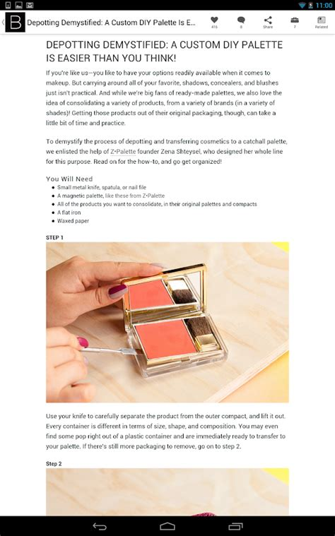 8 Makeup Tips For The Heat by Beautylish Makeup Tips Android Apps On Play