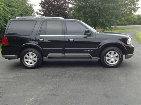 how to fix cars 2004 lincoln navigator engine control purchase used 2004 lincoln navigator base sport utility 4 door 5 4l in brownville new york