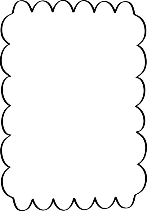 Scalloped Border Clipart scalloped border free page borders