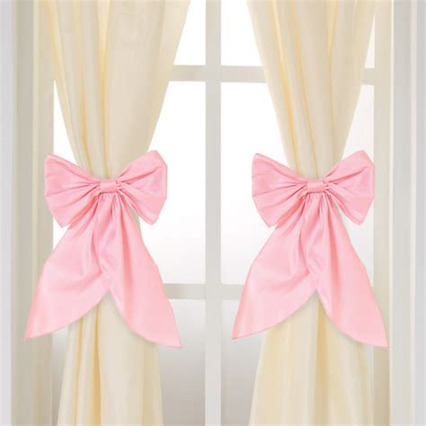 curtain bows serafina cream curtain panels set of 2