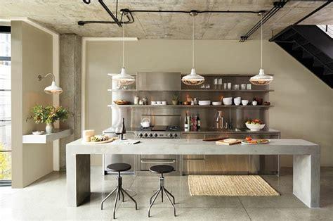 cuisine type industrielle cuisine style industriel une beaut 233 authentique