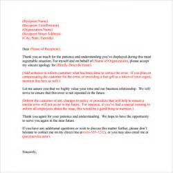 business apology letter 7 download free documents in