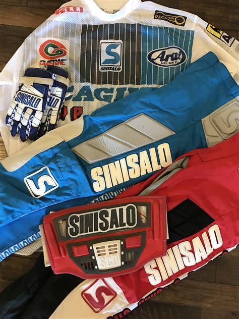 sinisalo motocross gear searching for 80s sinisalo gear old moto
