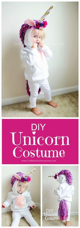 Handmade Fancy Dress Ideas - unicorn costume diy tutorial such a handmade