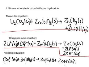 write a net ionic equation jennarocca