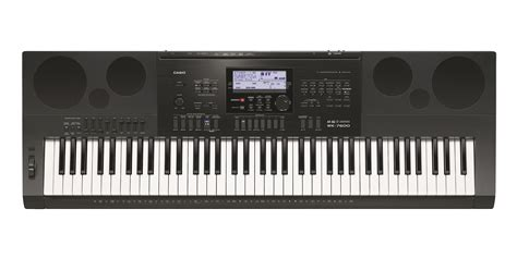 Keyboard Casio Wk 7000 casio wk 7600 keyboard workstation tonica musikk nettbutikk