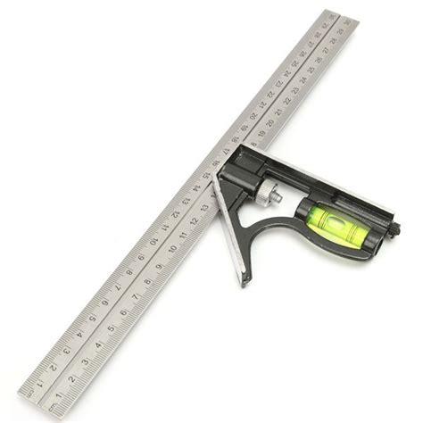 woodworking measurement tools precise measuring tools aluminium combination square diy