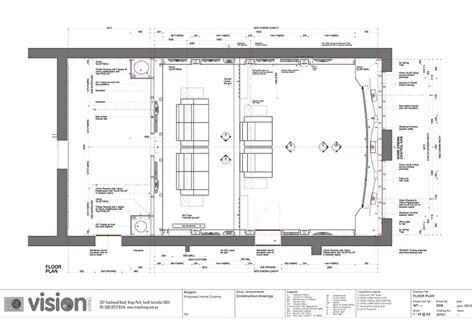 cinema floor plan home theatre adelaide vision living are adelaide s home