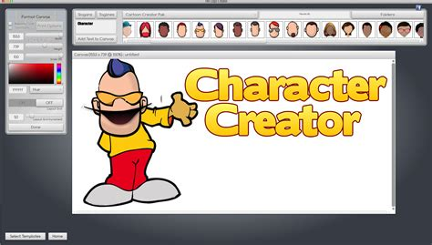 character web creator create your own character jvz web design software by