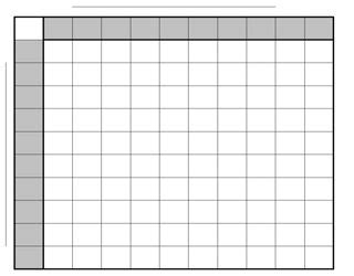 football square board template free printable football squares template paper