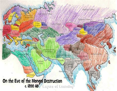 mongol empire map mongol empire map on the of the mongol