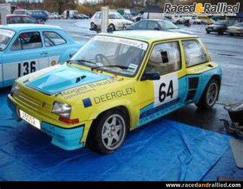 mid engine renault 5 3l v6 255bhp rally cars for sale