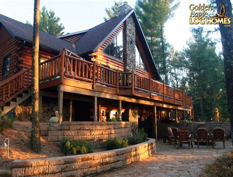 log cabin house plans with walkout basement 187 woodworktips 10 best images about log home cabin exteriors on