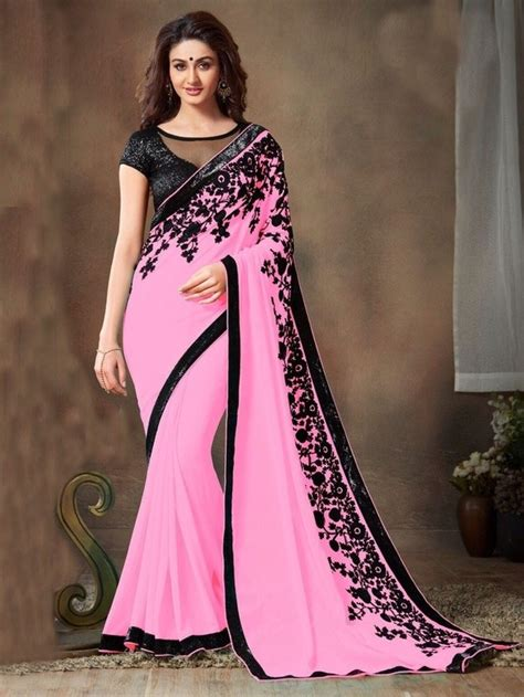 which colour blouse suits for pink saree which colour saree ll suit for black colour blouse quora