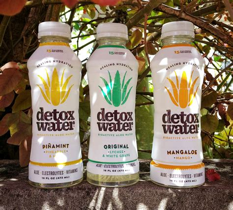 Water Only Detox Reviews by High Retention Health Benefits With Aloe Water Detox